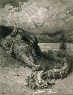 Gustave Doré - Pantagruel (Oeuvres de Rabelais, 1854)
