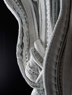 Arabesque Wall, 2015 (detail) Benjamin Dillenburger and Michael Hansmeyer 3D printed sandstone 109 cm x 140 cm x 305 cm developed in collaboration with Design Exchange