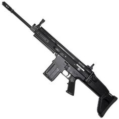 FN SCAR 17S Semi Auto Rifle .308 Win/7.62 NATO 16 Barrel 20 Rounds Collapsible Side Folding Stock Quad Rail Black 98561