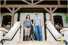Derek & Brittany's Rustic Engagement Session in Mckinney, TX
