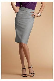 measuring formula to determine best skirt length for your particular legs plus love this simple skirt