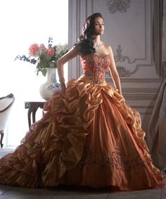 Ball Gown Sweetheart Floor Length Tulle Quinceanera Dress Style Q26646
