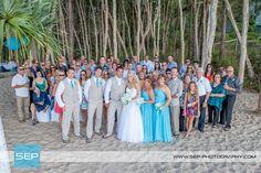 Nicolle and Kyle: A caucophony of colour    Photo: SEP Photography   #kingfisherbay #fraserisland #destinationwedding #fraserislandwedding #fraserwedding http://www.fraserislandweddings.com.au/ #AccorAustralia #Mercure