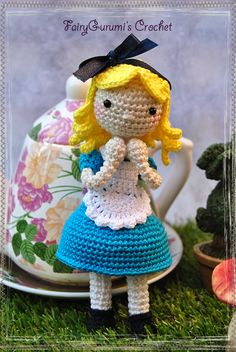 Amigurumi doll - Alice - Tutorial by FairyGurumi's Crochet ☆