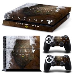 PS4 Playstation 4 Console Skin Decal Sticker Destiny Rise Of Iron Custom Design…
