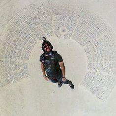 I love this shot...amazing! Burning Man