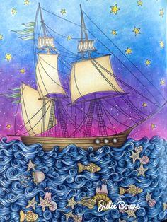 Dagdrömmar - daydreams by Hanna Karlzon Colored by Julie Bouve