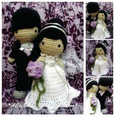 AChiBuu Handmade: Vintage Wedding Couple