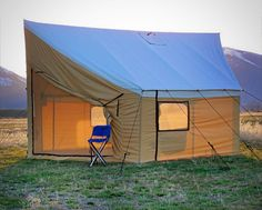 Montana Canvas - Montana Lodge Tent & Relite Wedge Tent | all about houses | Pinterest | Tents