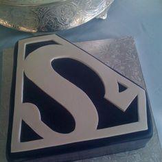 Superman Logo Cake Art Superman Cakes, Superman Logo, Man Birthday, Birthday Cakes, Birthday Ideas, Cakes For Boys, Boy Cakes, Cake Logo, Character Cakes