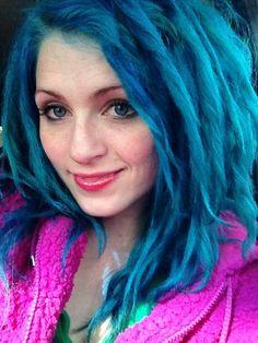 pretty and blue
