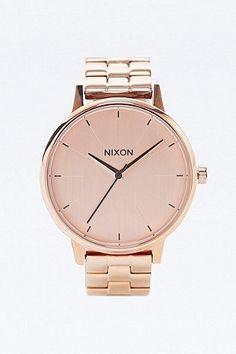 "Nixon ""Kensington"" Uhr in Roségold"