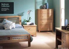 Corndell Nimbus Oak Bedroom Furniture