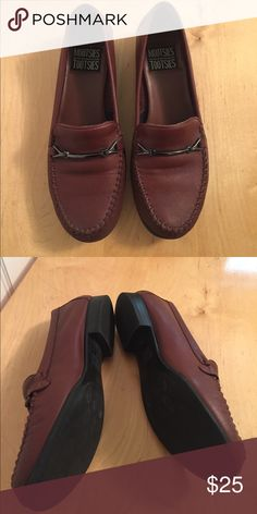 Mootsies Tootsies leather loafer flats Rusty brown, soft and comfortable. Worn once--like new! Mootsies Tootsies Shoes Flats & Loafers