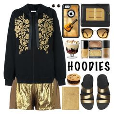 """""""Heads Up! Cute Hoodies"""" by barbarela11 ❤ liked on Polyvore featuring River Island, P.A.R.O.S.H., Miu Miu, FitFlop, Tom Ford, OtterBox, LSA International and Irene Neuwirth"""