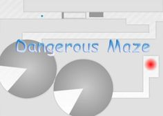 Play Dangerous maze    This is one of the hardest games in this category.  It is ruthless and justifies its name Dangerous Maze. Gamer have to avoid touching walls, complete 6 levels and have only 5 lives. This maze is for smart players, not everyone can start and cross the finish line.
