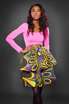 Dpipertwins - Automne Hiver 2014 2015 - Pagnifik african inspired outfit