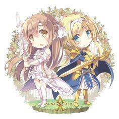 Asuna e Alice