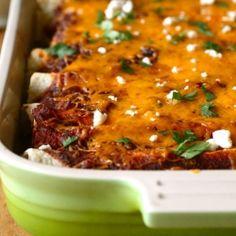 Vegetarian Enchiladas for my darling!