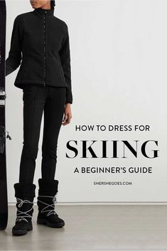 Contrary to what some may think, what to wear skiing and snowboarding is not simply what you might wear on a normal winter day. Here's a handy checklist of what to wear when you are hitting the slopes! #ski #snowboard #packinglist Ski trip packing list, what to wear skiing, what to wear skiing clothes, ski trip outfit, ski trip essentials, ski trip outfit woman, ski trip packing list women Ski Trip Packing List, Packing Lists, Ski Trip Outfit Woman, Snowboarding, Skiing, Airport Outfits, Shopping Places, Travel Hacks, Fashion Bloggers