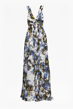 Kiki palm ruches maxi dress, £160, French Connection