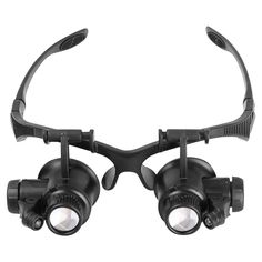 Headband 10X 15X 20X 25X LED Magnifier Adjustable Optical Lens Jewelry Watch Repair Magnifying Glass Reading Aid Loupe