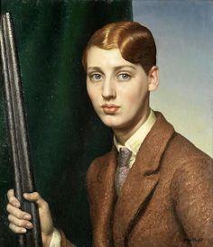 Laura Knight, Portrait of Heather Ealand, 1928