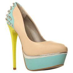 zapatos en color pastel, nude & neon ¡¡¡perfectos!!!! De JOhn Lewis