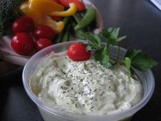 Dill Dip for Weight Watchers from Food.com: ZERO PointsPlus!!!!  This tasty veggie dip is much less expensive than buying a tub of prepared dip from the Grocery Store.   Also, the cottage cheese is a big help with your daily milk and calcium requirements.