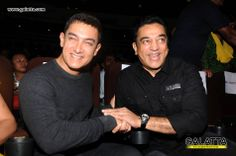 #AamirKhan and #KamalHaasan at #CIFF #Galatta