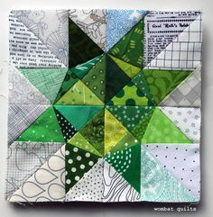Free Paper Piecing patterns. Need to learn this technique!