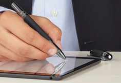 Montblanc Starwalker with e-refill your pen for your tablet  #montblanc #samsung #apple #iphone #ipad #galaxy #pen