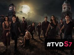 Get ready for more of your favorite vampires. #TVD has been #RENEWED for season 7!