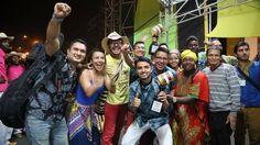 Ganadores en modalidad Versión Libre del Festival Petronio Álvarez 2015: Primer lugar al Grupo LA JAGUA