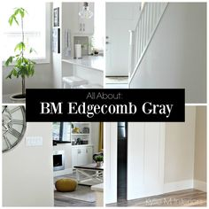 Benjamin Moore Edgecomb Gray - a greige paint