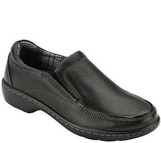 Eastland Leather Slip-on Loafers - Kaitlyn Loafers For Women, Loafers Men, Leather Slip On Shoes, Black Leather, Eastland Shoes, Shoe Deals, Types Of Shoes, Black Shoes, Casual Shoes