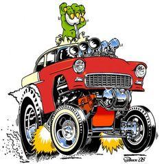 Rat Fink Style Art   Rat Fink, Tiki, Car and Monster Art ** COOL!!!