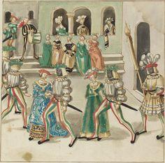 German 16th Century  Masquerade, c. 1515  Rosenwald Collection  1943.3.4384  NGA open access