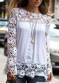 Charming White Top//