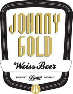 Johnny Gold Weiss Beer - A light-style weissbier with the typical cloudy appearance for the style – straw coloured with a foamy white head. Boston Brewery, Craft Beer Brands, Beer Brewing, Ipa, Best Brand, Light Style, Gold