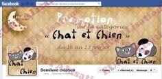 Couverture et image de profil personnalisées pour votre page facebook. : Art numérique par la-gorgone