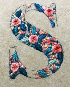 Wonderful Ribbon Embroidery Flowers by Hand Ideas. Enchanting Ribbon Embroidery Flowers by Hand Ideas. Embroidery Needles, Hand Embroidery Stitches, Modern Embroidery, Crewel Embroidery, Hand Embroidery Designs, Embroidery Techniques, Cross Stitch Embroidery, Embroidery Supplies, Embroidery Ideas