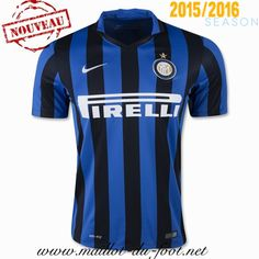 boutique Maillot de foot Inter Milan Domicile 2015 2016 en ligne