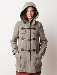 Made in USA Toggle Coat from Pendelton