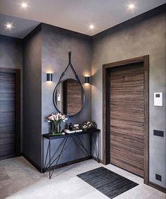 Home Decor Furniture, Home Decor Bedroom, Home Living Room, Home Room Design, Home Interior Design, Living Room Designs, Entrance Hall Decor, House Entrance, Flur Design