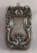 Antiguo Sterling Repousse coincide con seguro Vesta Art Nouveau #3