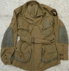 WWII paratrooper jump jacket
