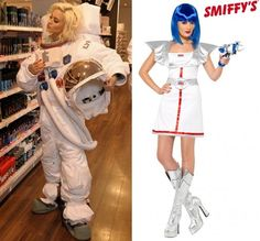 Adult Female Astronaut Costumes (page 2) - Pics about space  sc 1 st  Pinterest & Little spaceman astronaut costume | Kidu0027s spaceship hideaway ...