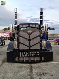 Watch out for this mean looking truck!