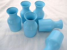 Cottage Chic Beach Blue Glass Collection by PerfectlyGoodStuff, $12.00